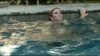 Slutty mermaid Sarah Jay has won a dick for a doggy fuck