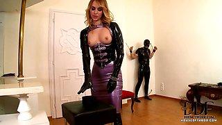 Mistress Gets Her Ass Gaped