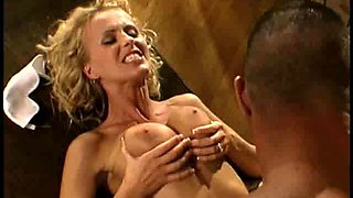 Big tits Maid Ava Vincent pleasured with gigantic dick doggystyle