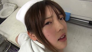 japanese nurse needs some cum now