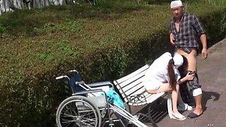 Incredible Japanese girl Mai Tsuruta in Crazy Outdoor, Nurse JAV clip