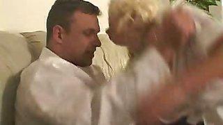 Blonde big tit nurse fucked