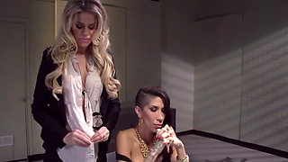 Lesbian Cop Interrogation