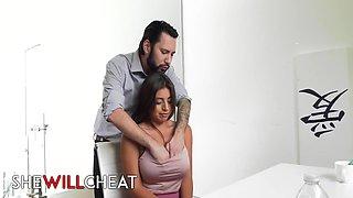 Ella Knox - Latina Husband With Her Boss