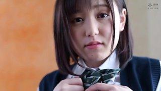 Asian Buxom Schoolgirl Hard Fuck