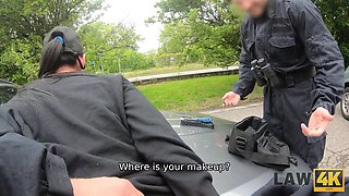 Knows How To Avoid Punishment - Uniform Sex With Leanne Lace And Angel Piaff