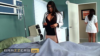 Four Stunning Horny Doctors Seduce And Fuck Johnny Sins