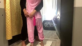 BJ. Teen. Sex. School games. Slut in unicorn pajamas makes a nice Panda.