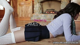 Incredible pornstars Adria Rae, Seth Gamble in Best Brunette, Small Tits xxx movie