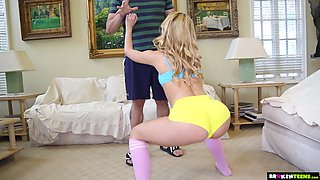 Alina West has been training her asshole for some anal sex with her boyfriend