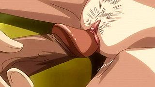 Teacher gives Nakadashi an anal creampie - Hentai  Uncensored