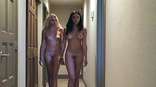 New girl at school gets fucked as a hottie teaches her