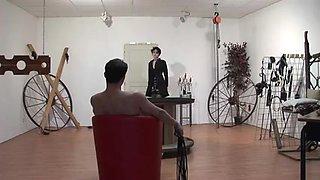 Darla Demonia destroyed by Master William in a SM Scene