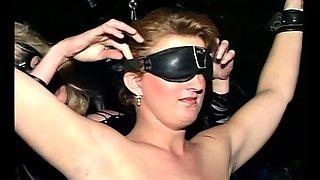 Stunning blonde slave experience fetish games in bdsm