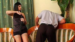 girls pussy licked by slave film