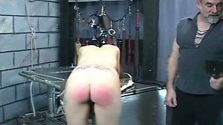 Horny dominatrix wants to turn that ass into a very nice shade of red