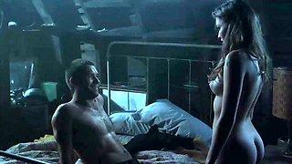 Get Lost in Maggie Grace's Open Shirt - Mr.Skin