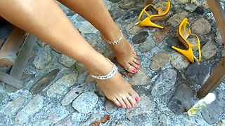 Crazy amateur Amateur, Foot Fetish xxx video