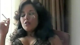 Crazy Amateur clip with Brunette, Stockings scenes
