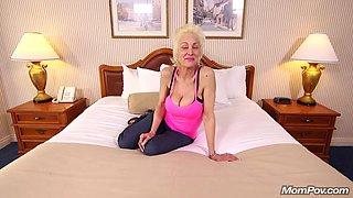 Wild Granny Gets Rammed - Pov Sex