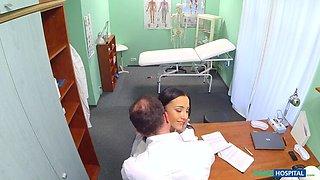 Sexy Nurse Wants Cock and a Raise