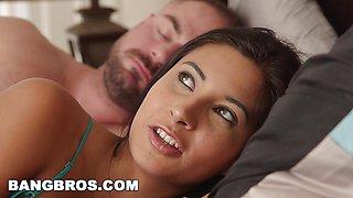 Cute Stepdaughter Jade Jantzen admires stepdad