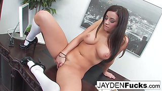 Taylor Vixen in Taylor Vixen Is Sexy Office Secretary - JaydenJaymesXXX