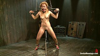 Ebony Babe's Put Through Bondage Fun