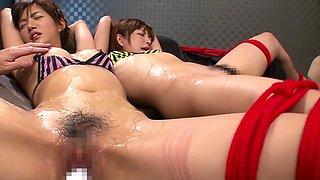Mana Sakura, Nozomi Aso in Double Cast Deep Orgasm part 3