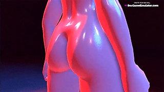 Big Tits 3D Lesbian Rule 34 Compilation