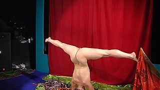 Lina Sadlutova - Gymnastic Video part 1