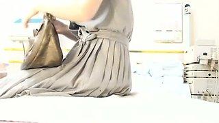Hairy asian chick massage hidden cam fuck