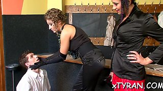 slave gets ass whipped hard segment