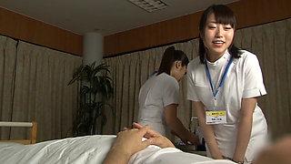 Japanese Nurse Threesome Service