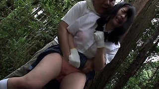 Skinny Japanese Teen Fingered and Fucked