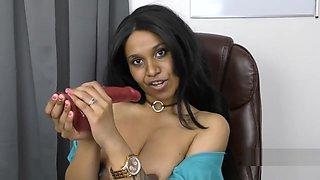 Slutty Indian secretary roleplay pov in Tamil