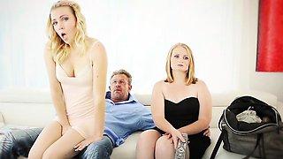 FamilyStrokes -  Step-Dad Obsessed With Daughters Panties