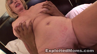 Huge boobed sexy GILF enjoying a BBC