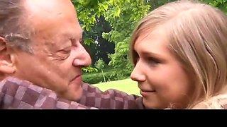 Romantic old man fuck swedish schoolgirl
