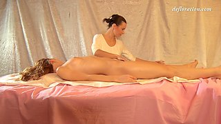 Hot Wet With Fedorkino Gore And Oiled Massage