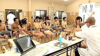 Naughty Japanese AV Model teen is fucked in school uniform