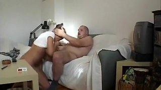 Blonde Housewife Fucks Stranger's Shlong