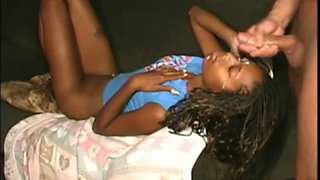 Poor Little Black Girl Fucked So Hard