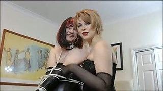 Mistress Fucks And Teases Sissy Crossdresser