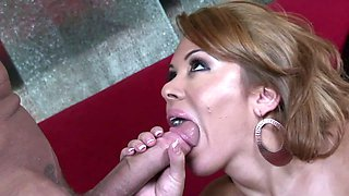 Stunningly beautiful Sienna West has fun with her lover's dong