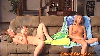 two bi sexual college girl dirty