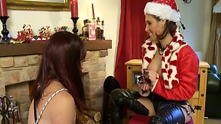 Amazing Homemade Shemale movie with Femdom, Strapon scenes