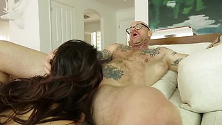 Valentina Nappi and Buck Angel demonstrate what sex means