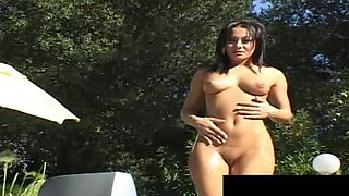sandra takes the biggest and thickest monster cumshot