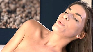 Lesbea Teen sweethearts 69 after scissors and face sitting